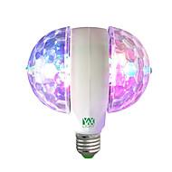 お買い得  LED ボール型電球-YWXLIGHT® 1個 6W 400lm E27 LEDボール型電球 6 LEDビーズ ハイパワーLED 装飾用 RGB 85-265V