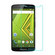 お買い得  スクリーンプロテクター-スクリーンプロテクター のために Motorola Moto X Play 強化ガラス 1枚 スクリーンプロテクター ハイディフィニション(HD) / 硬度9H / 2.5Dラウンドカットエッジ