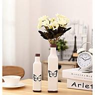 Japonca stil avrupa Akdeniz retro eski vazo süsleri ev mobilya mini yaratıcı seramik vazo
