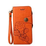 для чехлов держатель карты держатель кошелек с подставкой флип-паттерн полный корпус чехол цветок твердый кожа pu для яблока iphone x