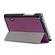 preiswerte Tablet Zubehör-Hülle Für Huawei MediaPad T3 7.0 Ganzkörper-Gehäuse Solide Hart PU-Leder für Huawei MediaPad T3 7.0