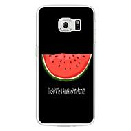 halpa Galaxy S5 Mini kotelot / kuoret-Etui Käyttötarkoitus Kuvio Takakuori Hedelmä Pehmeä TPU varten S8 S8 Plus S7 edge S7 S6 edge plus S6 edge S6 S6 Active S5 Mini S5 Active