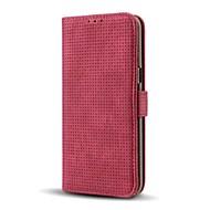 Кейс для Назначение SSamsung Galaxy Кошелек Бумажник для карт со стендом Флип Чехол Сплошной цвет Твердый Искусственная кожа для Note 8