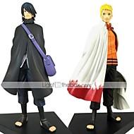Anime Akciófigurák Ihlette Naruto Naruto Uzumaki PVC 18 CM Modell játékok Doll Toy