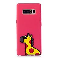 na wzór obudowy przypadku tylna obudowa tylna obudowa zwierzę domowe 3D cartoon miękkie tpu dla Samsung Galaxy note 8