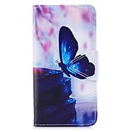 Кейс для Назначение SSamsung Galaxy J5 (2017) J3 (2017) Кошелек Бумажник для карт со стендом Флип С узором Чехол Бабочка Твердый