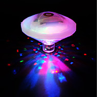 povoljno -brelong vodio šarene podvodni svjetlo bazen svjetiljka svjetiljka svjetiljka rgb koristiti 3xaaa baterija - nema baterije