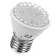 1pc 2w led világítja meg a világítást 38leds e27 növekszik a fény 10blue és a 28redes lámpa ac110v / 220v