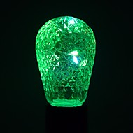1 stuks 1W E27 LED-bollampen 12 leds SMD Decoratief Warm wit Koel wit Blauw Groen 100-200lm 2800-3200/6000-6500