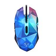 εκθαμβωτικό χρώμα διαμάντι έκδοση 3200dpi ποντίκι παιχνιδιών ενσύρματο ποντίκι
