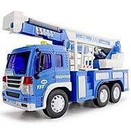 LED-verlichting Muzikaal speelgoed Terugtrekauto/Inertie-auto Voertuig Toy Playsets Speelgoedauto's Speeltjes Speeltjes Automatisch