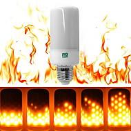 6W E27 LED Λάμπες Καλαμπόκι T 99 leds SMD 3528 Με ροοστάτη Διακοσμητικό Θερμό Λευκό 550-600lm 2800-3500K AC 200-240V