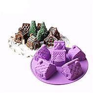 halpa Keittiötarvikkeet-kakku Muotit Karhu Jää for Leipä Suklaa for Cake Candy Leipä Kakku Silkonikumi Silikoni 100% standardi pehmeä silikoni ruuanlaittoon