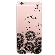 Case For Apple iPhone X iPhone 8 Plus Pattern Back Cover Scenery Dandelion Soft TPU for iPhone X iPhone 8 Plus iPhone 8 iPhone 7 Plus