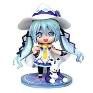 halpa Cosplay-Anime Toimintahahmot Innoittamana Vocaloid Snow Miku CM Malli lelut Doll Toy