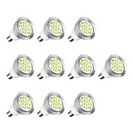 10pcs 3W E14 LED Spotlight E14/E12 16 leds SMD 5630 LED Lights Warm White White 260-300lm 3000-3500/6000-6500K AC 220-240V