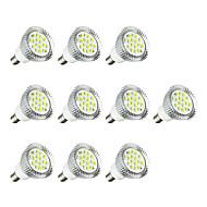 10 stuks 3W E14 LED-spotlampen E14 / E12 16 leds SMD 5630 LED verlichting Warm wit Wit 260-300lm 3000-3500/6000-6500K AC 220-240V