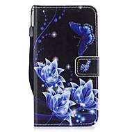 olcso Galaxy J3(2017) tokok-Case Kompatibilitás Samsung Galaxy J3 (2017) Kártyatartó Pénztárca Állvánnyal Flip Héjtok Pillangó Kemény PU bőr mert J3 (2017)