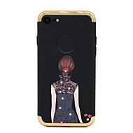 Кейс для Назначение Apple iPhone 8 iPhone 8 Plus Покрытие Задняя крышка Соблазнительная девушка Твердый PC для iPhone 8 Plus iPhone 8