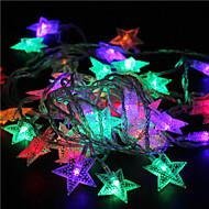 10m 60g rgb Crăciun lumini stele lumini de vacanță decor de nunta parte cortina lumini șir de lumini 220v