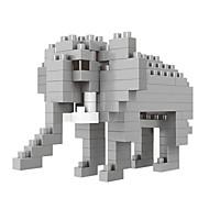 조립식 블럭 장난감 코끼리 동물 카툰 동물 애니멀 DIY 100 조각