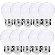 お買い得  LED ボール型電球-EXUP® 10個 6W 600lm E27 LEDボール型電球 A15 12 LEDビーズ SMD 5730 LEDライト 温白色 クールホワイト 85-265V