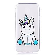 Case For Samsung Galaxy J5 (2017) J3 (2017) Transparent Pattern Back Cover Unicorn Soft TPU for J7 (2016) J7 (2017) J5 (2016) J5 (2017)