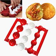 お買い得  キッチン用小物-ベークツール プラスチック 多機能 / ベーキングツール / 創造的 家庭向け / 日常使用 / 多機能 円形 ベーキング&ペストリーツール 1個