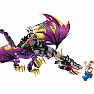 cheap Toys & Hobbies-ENLIGHTEN Building Blocks Toys Megalosaurus Dragon Classic Theme People Pirates Non Toxic Classic Warrior Children's Adults' Boys' 247