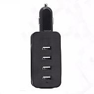 Недорогие Автомобильные зарядные устройства-hzn401 заряжает заряжатель мобильного телефона usb заряжатель 4 usb автомобиля с 4 заряжателем мобильного телефона