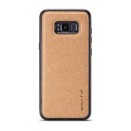 Недорогие Чехлы и кейсы для Galaxy S7-Кейс для Назначение SSamsung Galaxy S8 Plus / S8 Своими руками Кейс на заднюю панель Однотонный Твердый деревянный для S8 Plus / S8 / S7 edge