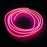 brelong 5m el neon kylmä nauhat valo - virtalähde korkea laatu
