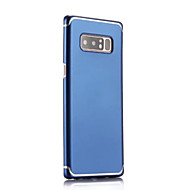 Недорогие Чехлы и кейсы для Galaxy Note-Кейс для Назначение SSamsung Galaxy Note 8 Рельефный Кейс на заднюю панель Однотонный Твердый ПК для Note 8