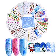 48 Nail Art Sticker  Decals Water Transfer Sticker Water Transfer Decals Sticker Makeup Cosmetic Nail Art Design