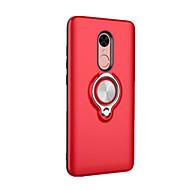 お買い得  携帯電話ケース-ケース 用途 Xiaomi Redmi Note 4X / Redmi 4X バンカーリング バックカバー ソリッド ハード PC のために Xiaomi Redmi Note 4X / Xiaomi Redmi Note 4 / Xiaomi Redmi 4A