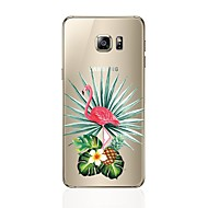 Недорогие Чехлы и кейсы для Galaxy S8-Кейс для Назначение SSamsung Galaxy S8 Plus S8 С узором Кейс на заднюю панель Фламинго Мягкий ТПУ для S8 Plus S8 S7 edge S7 S6 edge plus