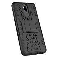 お買い得  携帯電話ケース-ケース 用途 Huawei Mate 10 lite スタンド付き バックカバー 鎧 ハード PC のために Mate 10 lite / Huawei