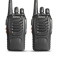 halpa -2 kpl radiopuhelinta baofeng bf-888s 16ch uhf 400-470mhz baofeng 888s kello radio hf lähetin amador kannettava