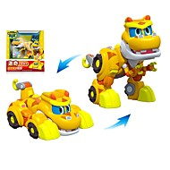 cheap Leisure Hobbies-Robot Toy Boat Race Car Vehicles Dinosaur Animal Transformable Animals Parent-Child Interaction Animal Soft Plastic Kid's Toy Gift 1 pcs