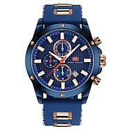 preiswerte Schmuck & Armbanduhren-Herrn Kinder Armbanduhr Kleideruhr Modeuhr Japanisch Quartz Kalender Chronograph Wasserdicht Armbanduhren für den Alltag Nachts leuchtend