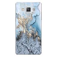 billige Galaxy A8 Etuier-Etui Til Samsung Galaxy A7(2017) Mønster Bagcover Linjeret / bølget Marmor Blødt TPU for A3 (2017) A5 (2017) A7 (2017) A7(2016) A5(2016)