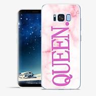 Недорогие Чехлы и кейсы для Galaxy S6 Edge Plus-Кейс для Назначение SSamsung Galaxy S8 Plus / S8 С узором Кейс на заднюю панель Слова / выражения / Мрамор Мягкий ТПУ для S8 Plus / S8 /