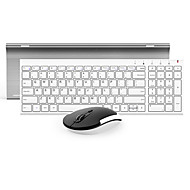 BOW Hw193 Membrane keyboard Office Mouse Wireless 1200 Mouse DPI Lithium Battery Portable