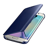 Недорогие Чехлы и кейсы для Galaxy A5(2017)-Кейс для Назначение SSamsung Galaxy A5(2017) A3(2017) Покрытие Зеркальная поверхность Чехол Сплошной цвет Твердый ПК для A3 (2017) A5