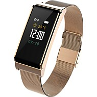 cheap -Smart Bracelet Smartwatch B15 for Android 4.4 / iOS Blood Pressure Measurement / Bluetooth / Water Resistant / Water Proof / Touch Sensor / APP Control Pulse Tracker / Pedometer / Call Reminder