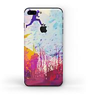 Χαμηλού Κόστους Προστασία οθόνης iPhone-1 τμχ Αυτοκόλλητο Καλύμματος για Προστασία από Γρατζουνιές Ματ Μοτίβο PVC iPhone 7 Plus