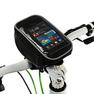 abordables Deporte y Estilo de Vida-ROSWHEEL Bolso del teléfono celular Bolsa para Manillar 5 pulgada Multifuncional Pantalla táctil Ciclismo para Samsung Galaxy S6 LG G3