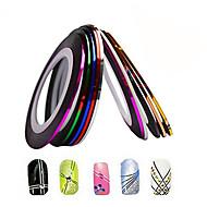 1pcs 1mm 20m Nail Art  Stripe Tape Line Sticker Nail Art Beauty Decoration Tools Random Delivery NC124