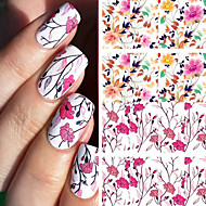 BORN PRETTY Pretty Flower Nail Art Water Decals BP-W04 Transfer Nail Stickers Nail Art Decorations
