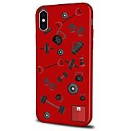 Недорогие Кейсы для iPhone 8 Plus-Кейс для Назначение Apple iPhone X iPhone 8 Plus С узором Кейс на заднюю панель Плитка Мягкий ТПУ для iPhone X iPhone 8 Pluss iPhone 8